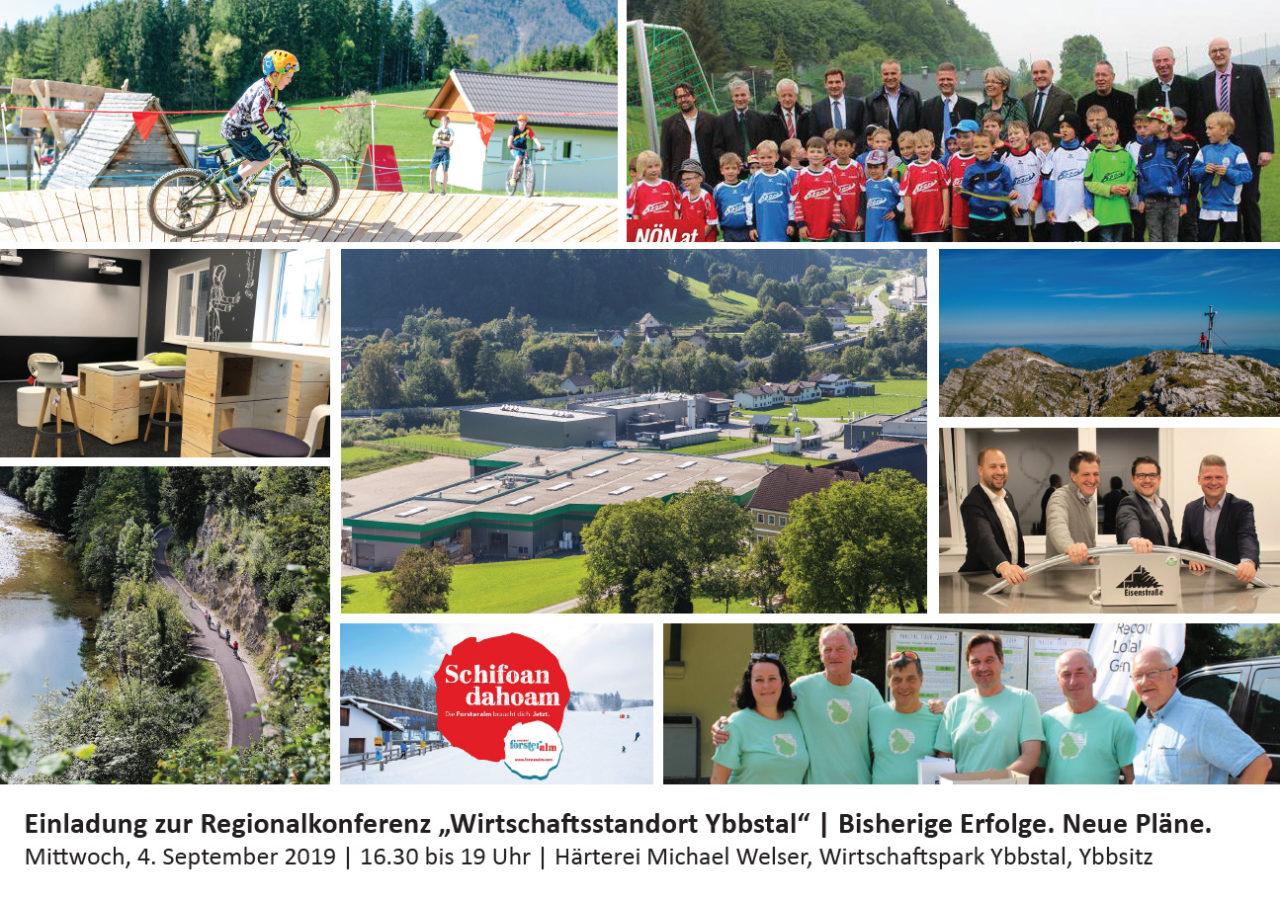"""Regionalkonferenz """"Wirtschaftsstandort Ybbstal"""""""